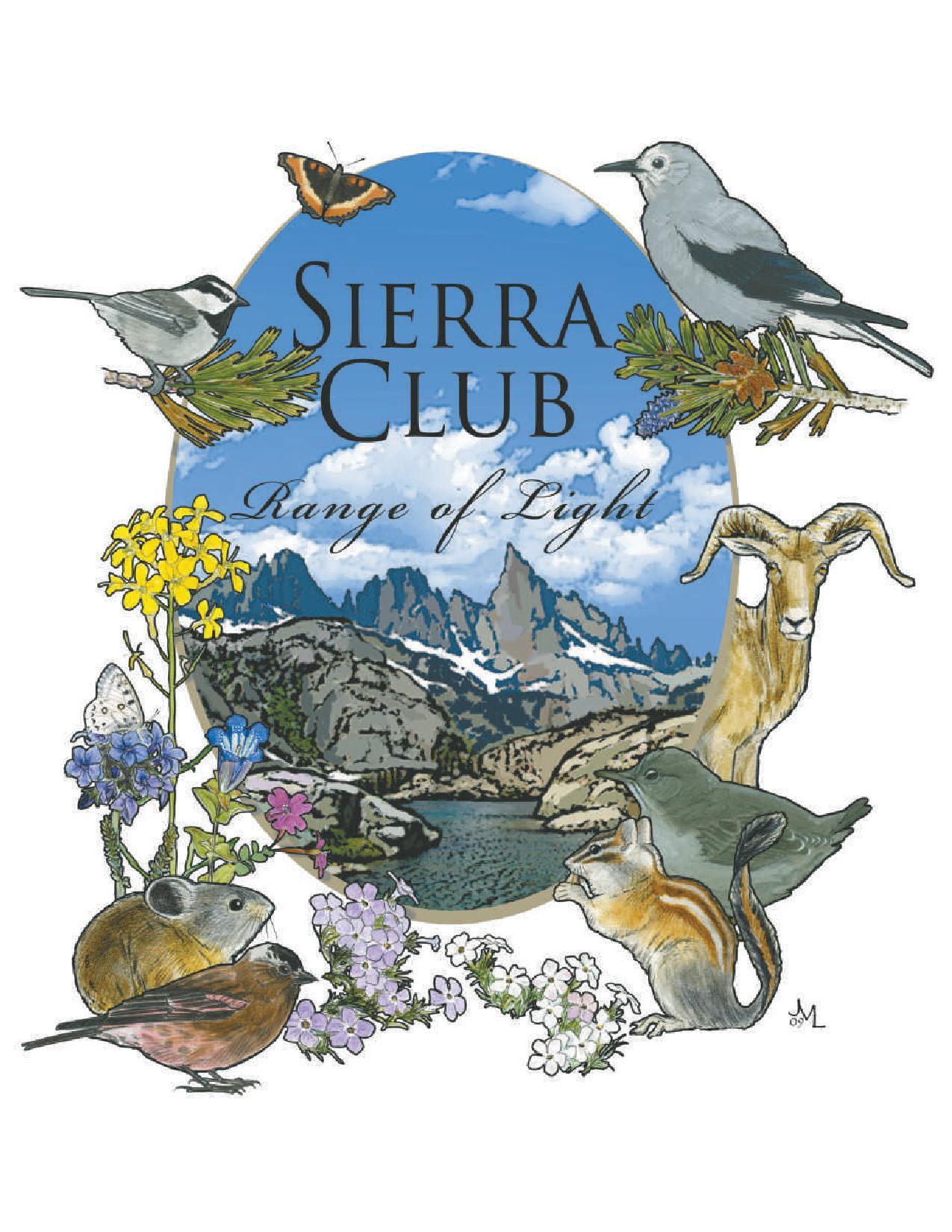 Sierra Club Rarnge of Light logo