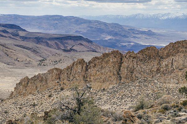 Rock Ridge at conglomerate mesa